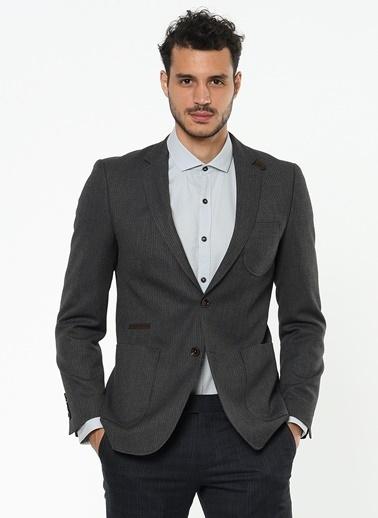 Altınyıldız Classics Slim Fit Blazer Ceket Antrasit